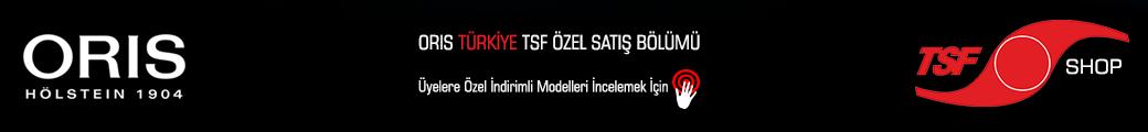 TSF Üyelerine Özel İndirimli Satılık Oris Modellerini İncelemek İçin Tıklayınız