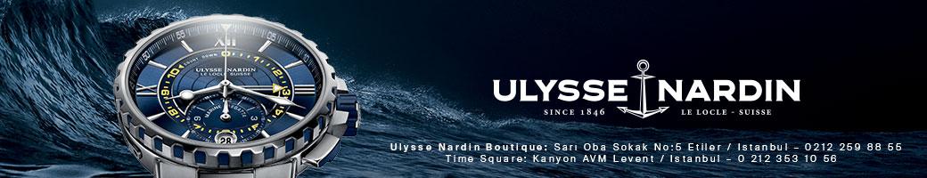 Click To Discover The New Ulyyse Nardin Marine Chronograph / Yeni Ulyyse Nardin Marine Chronograph'ı Keşfetmek İçin Tıklayınız