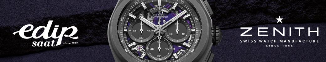 Edip Saat Galerisi Zenith Modellerini İncelemek İçin Tıklayınız